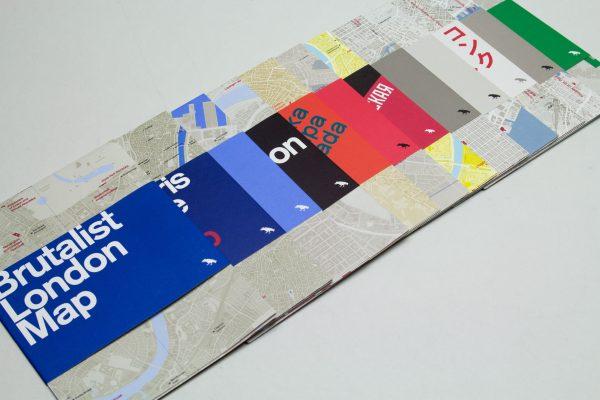 20th Century London Architecture & Design Maps Series