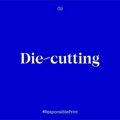 Die-cutting