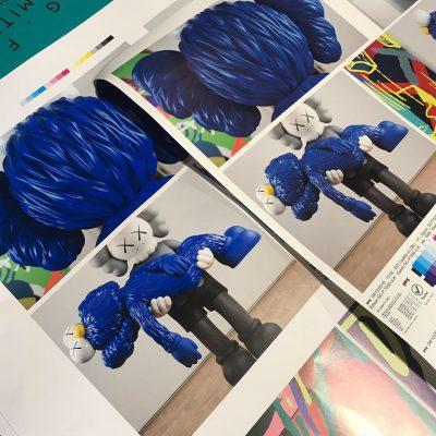 KAWS GONE — PT:01 — Colour / Pre-press